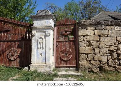 Moldova, traditional village