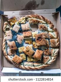 Moldy cheese pie