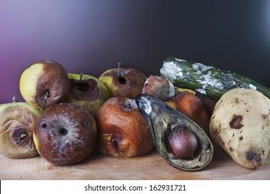 moldy fruits