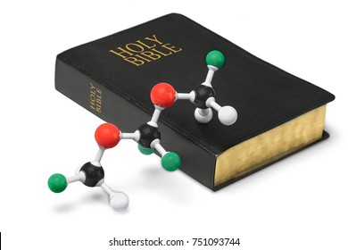 Molecular Model and Holy Bible