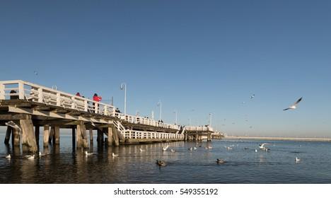 The Molo in Sopot - Shutterstock ID 549355192