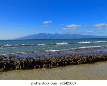 Molokai Island from Maui Island