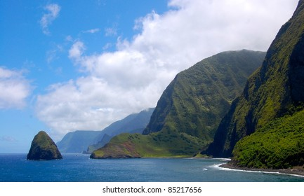 Molokai Worlds Tallest Sea Cliffs
