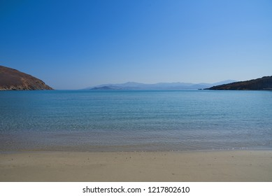 Molos beach - Paros Cyclades island - Aegean sea - Greece
