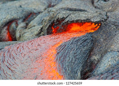 Molten lava, Big Island, Hawaii