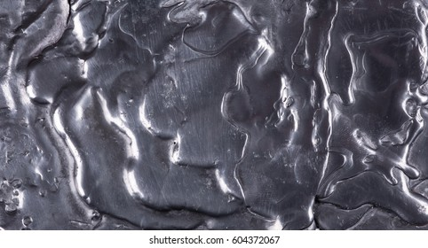Molten metal surface, abstract background