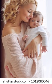Mom with a baby