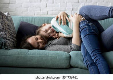 Mom Daughter Spend Time Holiday Togetherness