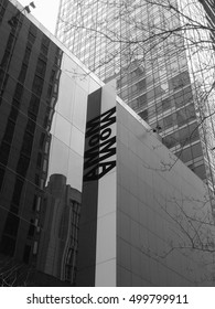 Moma Museum facade -December 2008 NYC (Usa)