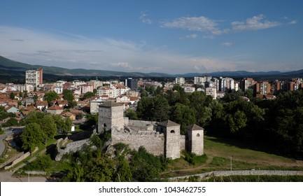 Momcilov Grad fortress in Pirot Town, Serbia