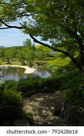 Momijiyama garden in the Sunpu-jo Castle park of Shizuoka, Japan : May 15, 2011