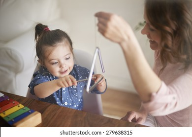 Mommy, this sound was clear!