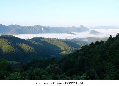 mon pui mok mountain thailand