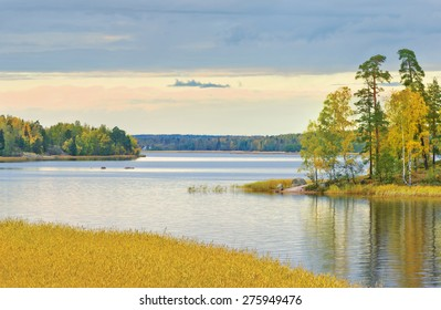 "Mon Repos or ""Monrepos"" landscape park at Vyborg. Russia"