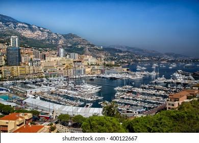 Monaco. 23 September 2013. Port of Monaco. Yacht Show
