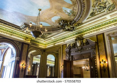 MONACO - August 10, 2016: Casino de Monte-Carlo, a gambling and entertainment complex located in the Principality of Monaco a sovereign city-state and microstate,