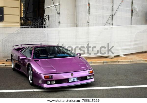Monaco August 2017 Lamborghini Diablo Se30 Stock Photo Edit