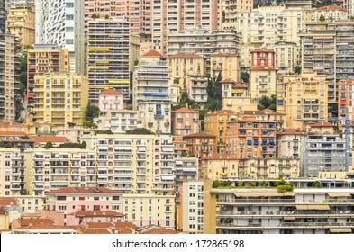 Monaco Cityscape in Southern Europe