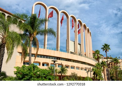 Monaco / Fontvieille- 02.09.2018: Stade Louis II (home of AS Monaco FC)