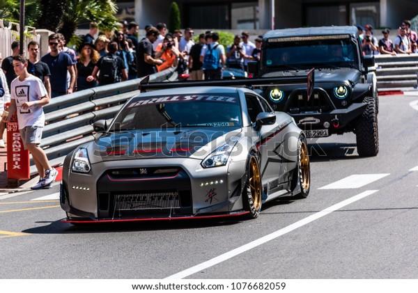 Monaco Monte Carlo 21 April 2018 Stock Photo (Edit Now