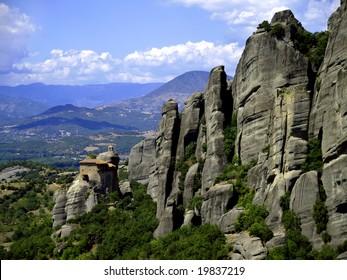 Monastery of Aghios Nikolaos Anapafsas in Greece