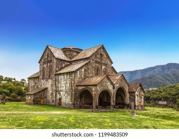 The monastery of Akhtala in the fortress Prnjak (Akhtala) in the gorge of the Debed river in Lori region. Armenia