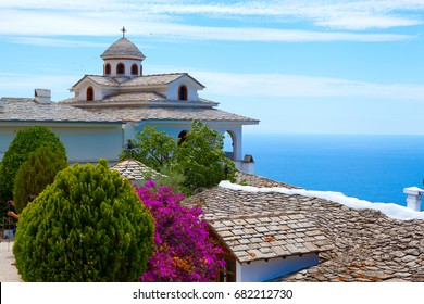 The Monastery of Archangel Michael in Thassos