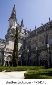 The Monastery of Batalha (Mosteiro da Batalha) is a medieval Dominican monastery in central Portugal.  It was built in 1385 and has been classified an UNESCO World Heritage Site.
