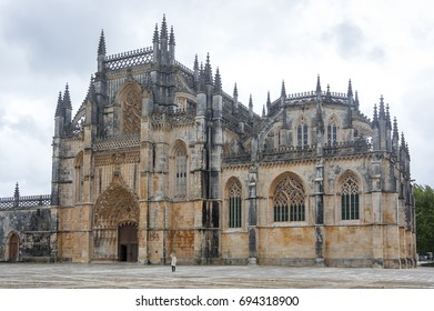 The Monastery of Batalha (Monastery of Saint Mary of the Victory) is one of the best and original examples of Late Gothic architecture in Portugal, intermingled with the Manueline style