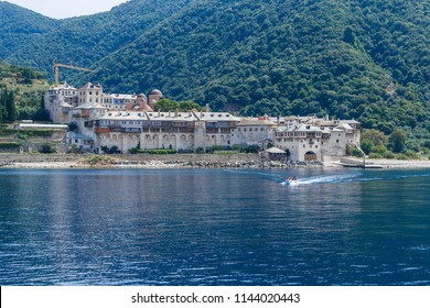 monastery by the sea, Mt Athos