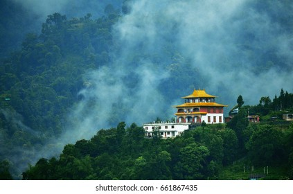 A Monastery in Gangtok