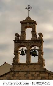 Monastery in Glavotok port , Krk Island , Croatia