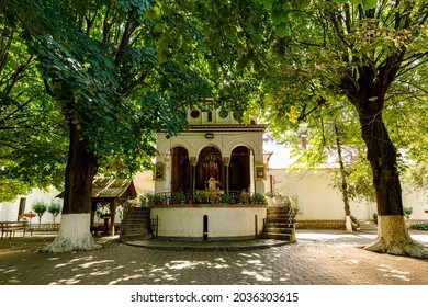 The monastery of Hodos Bodrog at Arad in Romania