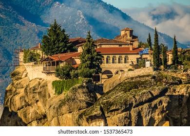 Monastery Of The Holy Trinity - Meteora, Greece, Europe