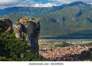 Monastery Holy Trinity , Meteora , Greece
