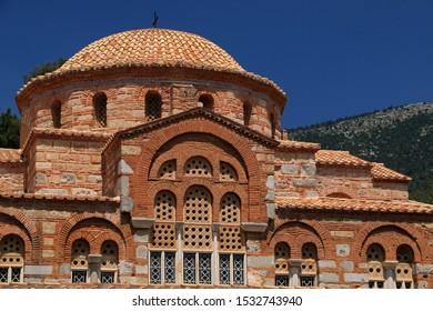 Monastery of Hosios Loukas, Boeotia, Greece - Shutterstock ID 1532743940