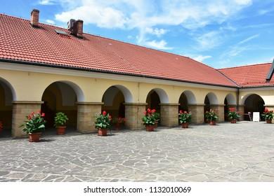 Monastery in Kalwaria Zebrzydowska -UNESCO World Heritage Site