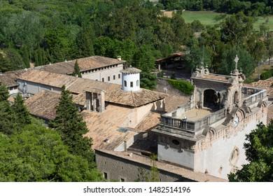 monastery of lluc in Mallorca