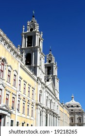 monastery in Mafra, Portugal, franciscan convent and palace