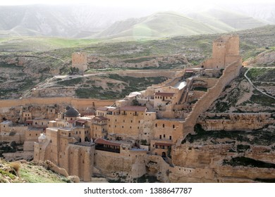 Monastery of Mar Saba, Saint Sabbas monastery, monastery in the desert