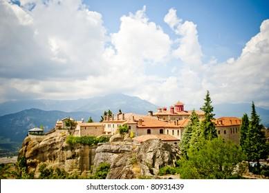 Monastery from Meteora-Greece