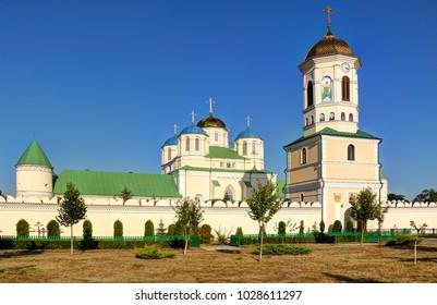 Monastery in Mezhirich near Ostrog, Ukraine