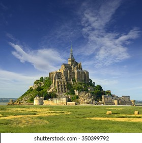 Monastery Mont Saint Michel, France, UNESCO World Heritage Site