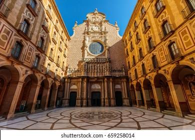 Monastery Montserrat, Barcelona, Catalonia, Spain