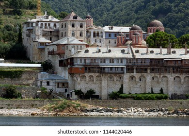 monastery, Mt Athos