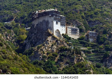 Monastery at Mt Athos