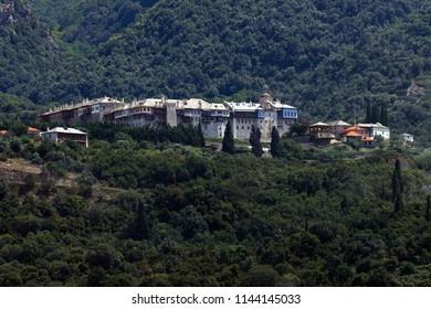 Monastery Mt Athos
