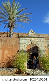 monastery on Crete, Greece