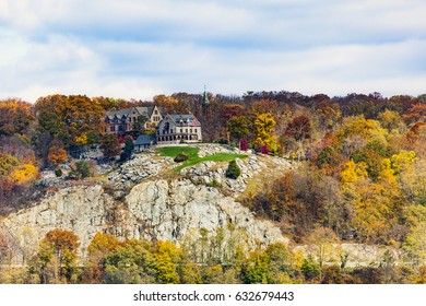 Monastery up on top of Bear Mountains. Rockland County, New York