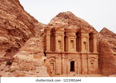 The Monastery is one of the legendary monuments of Petra. Similar in design to the Treasury but far bigger (50m wide and 45m high), it was built in the 3rd century BCE as a Nabataean tomb.